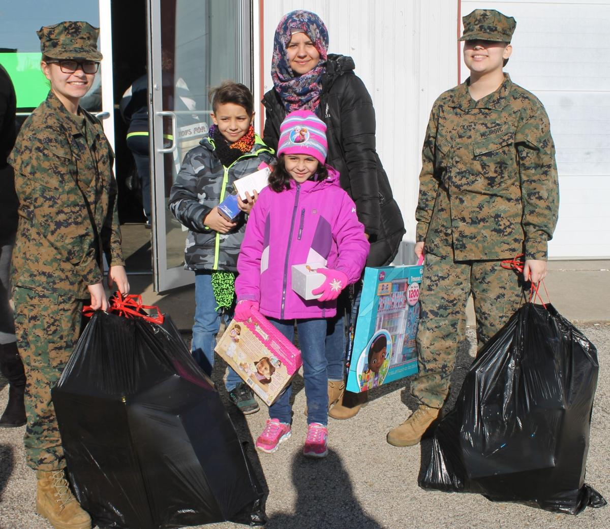 Toys for Tots makes Christmas merry for Region families