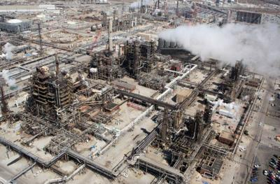 Crude Distillation Unit work underway at BP Whiting Refinery