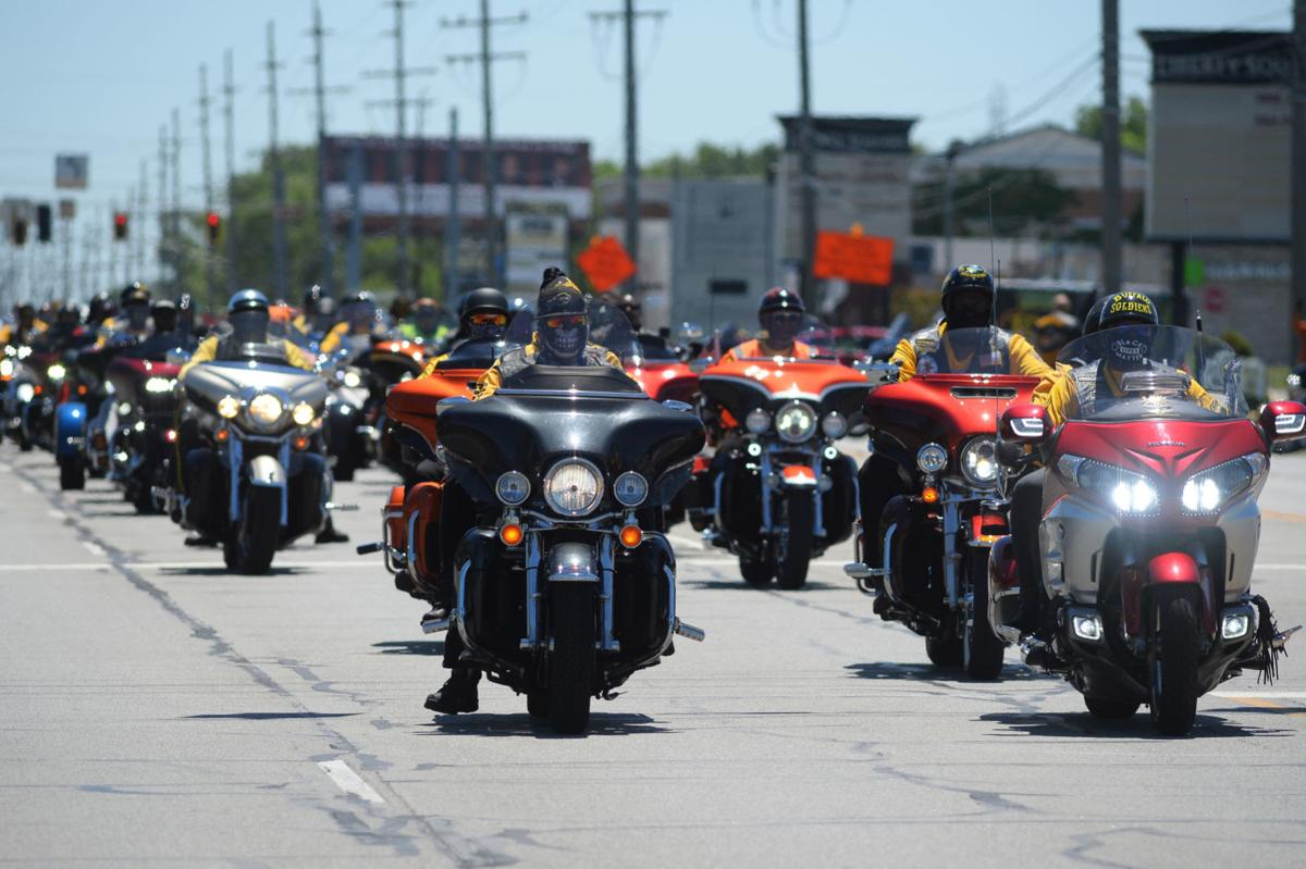Buffalo Soldiers Motorcycle Club Ride for Justice