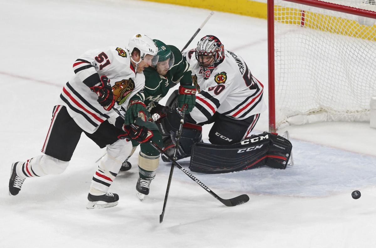 Blackhawks Wild Hockey