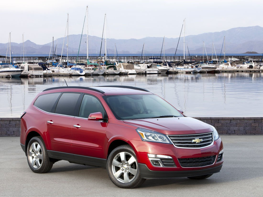 2016 Chevrolet Traverse A Crossover Suv With Serious Technology
