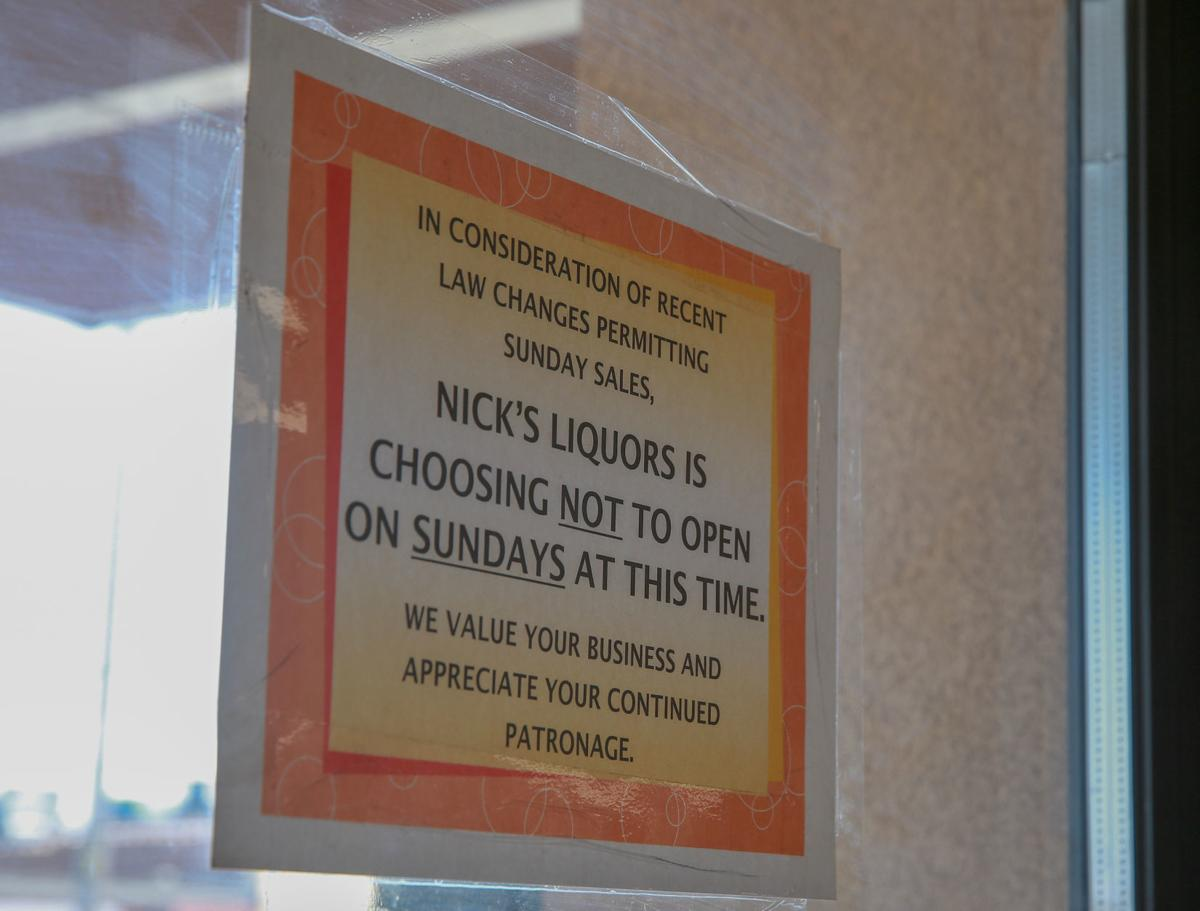 Nick's Liquors remains closed on Sundays