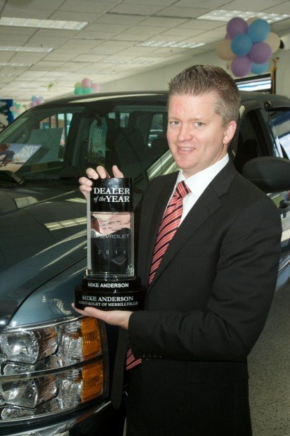 Elegant Mike Anderson Chevrolet Of Merrillville Named One Of General Motorsu0027  Dealers Of The Year!