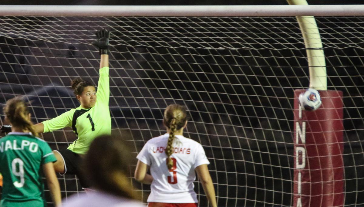 Portage Girls Soccer Sectional - Portage-Valpo