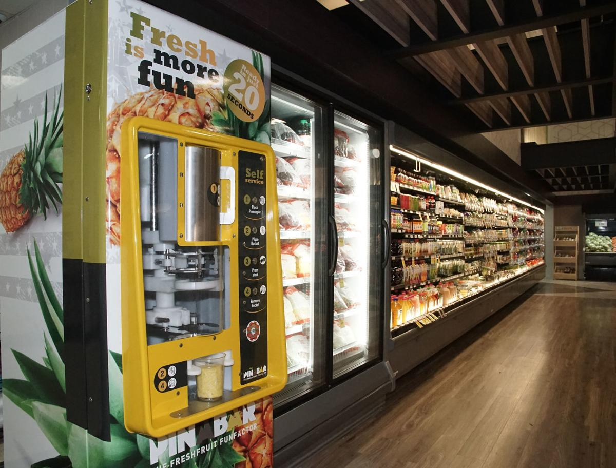 Major renovations bring pineapple coring machine, keto section and other new features to St. John Strack and Van Til