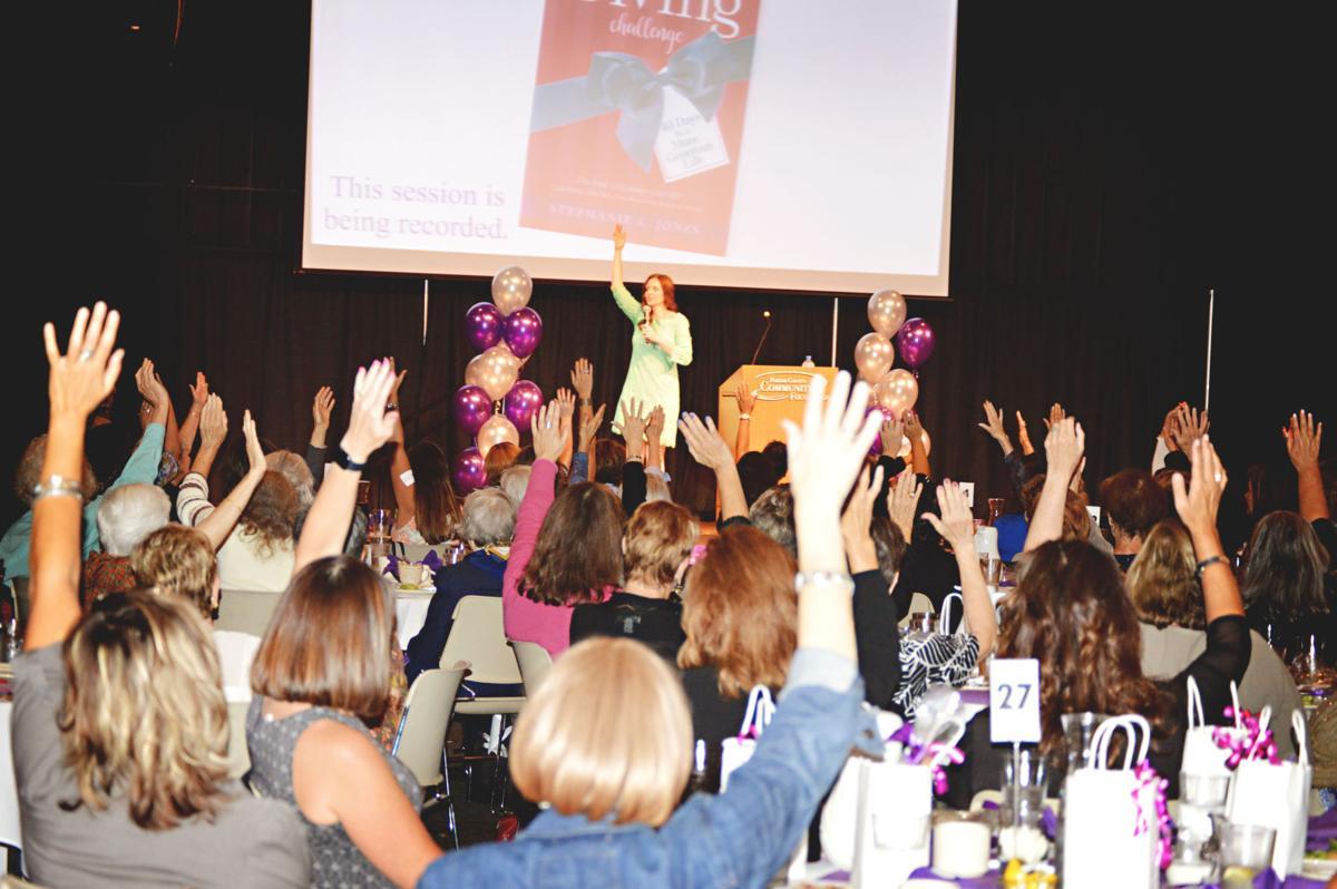 Annual Women's Tea celebrates women's philanthropy in Porter County