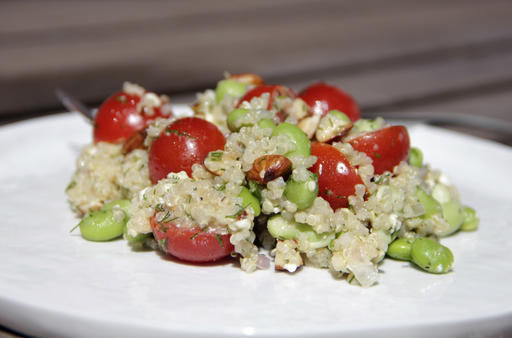 This edamame dish can be used as a side dish or as the star