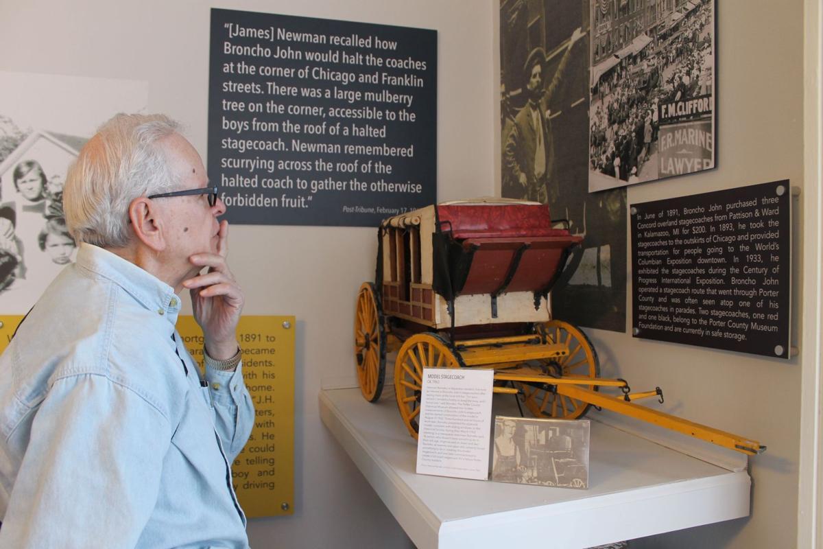 Porter County Museum opens exhibit on Broncho John
