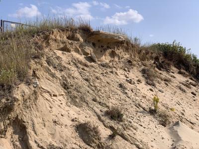 Beach nourishment effort reverses erosion's damage