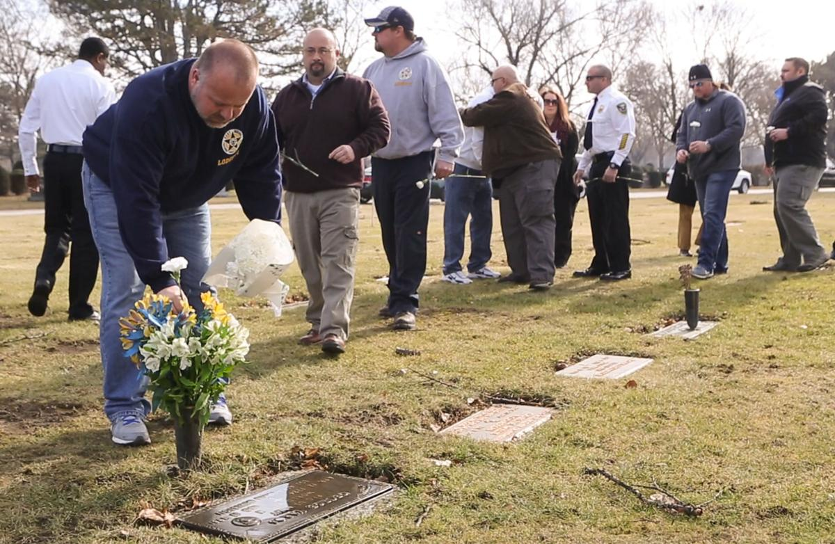 Family honors slain police officer George Yaros
