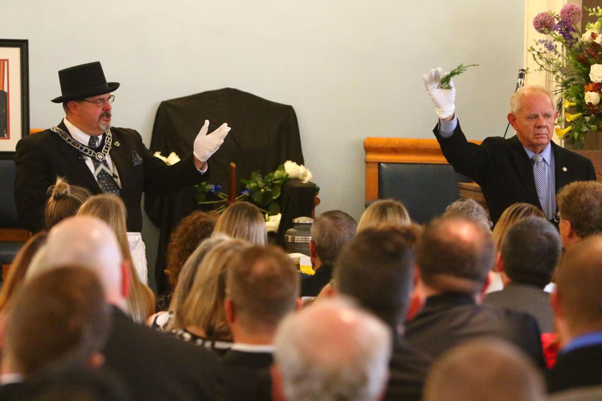 Masonic Memorial Service for T. Edward Page