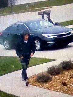 Officers looking for package thief snatching from doorsteps