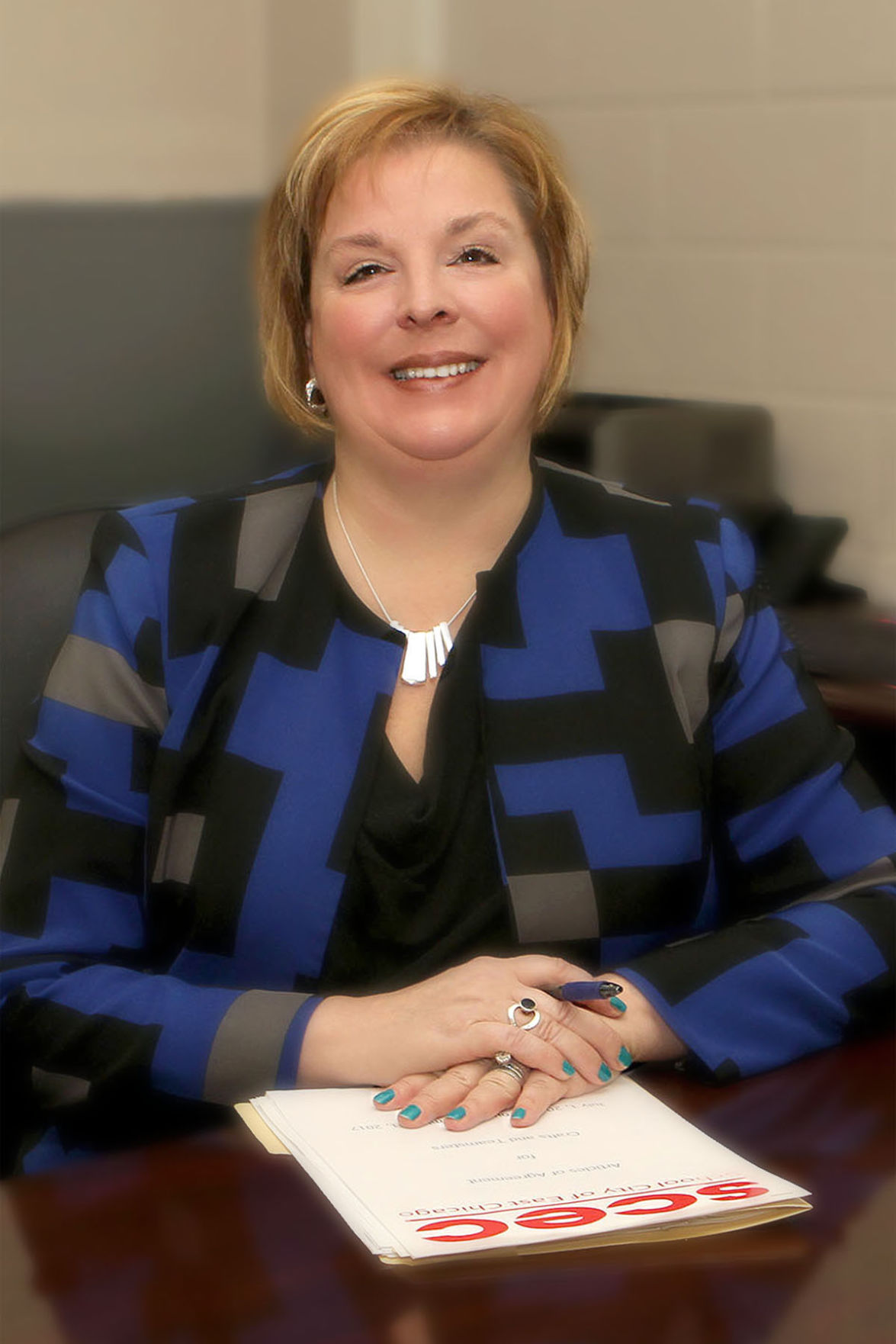 East Chicago school superintendent Paige McNulty