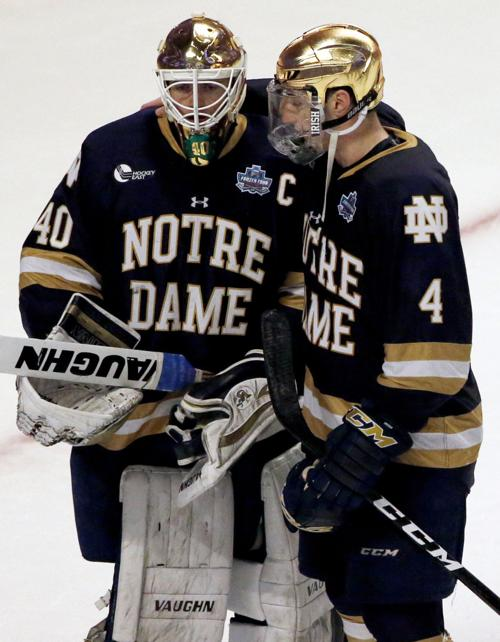 NCAA Notre Dame Denver Hockey