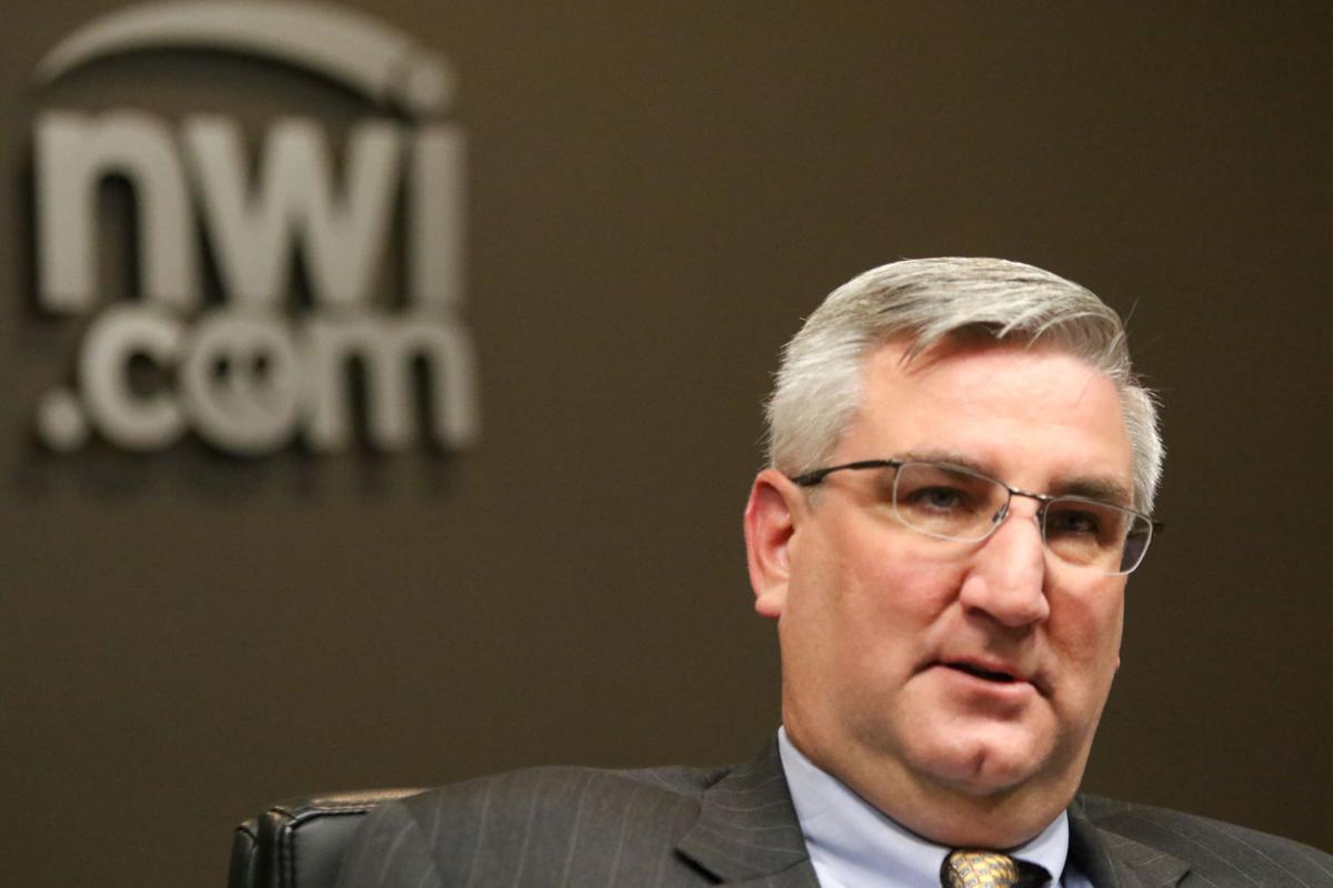 Indiana Gov. Eric Holcomb sits down with The Times