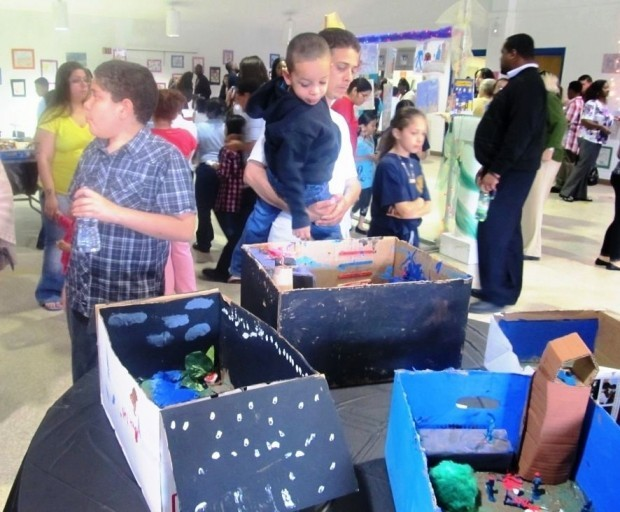 Academy students display their artwork