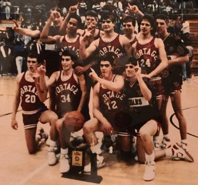 Portage 1988 boys basketball team