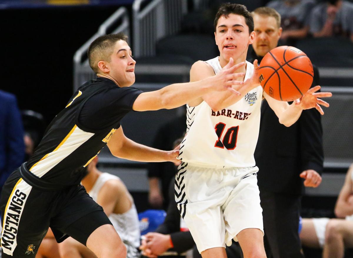 Class A boys basketball state final: Kouts vs. Barr-Reeve