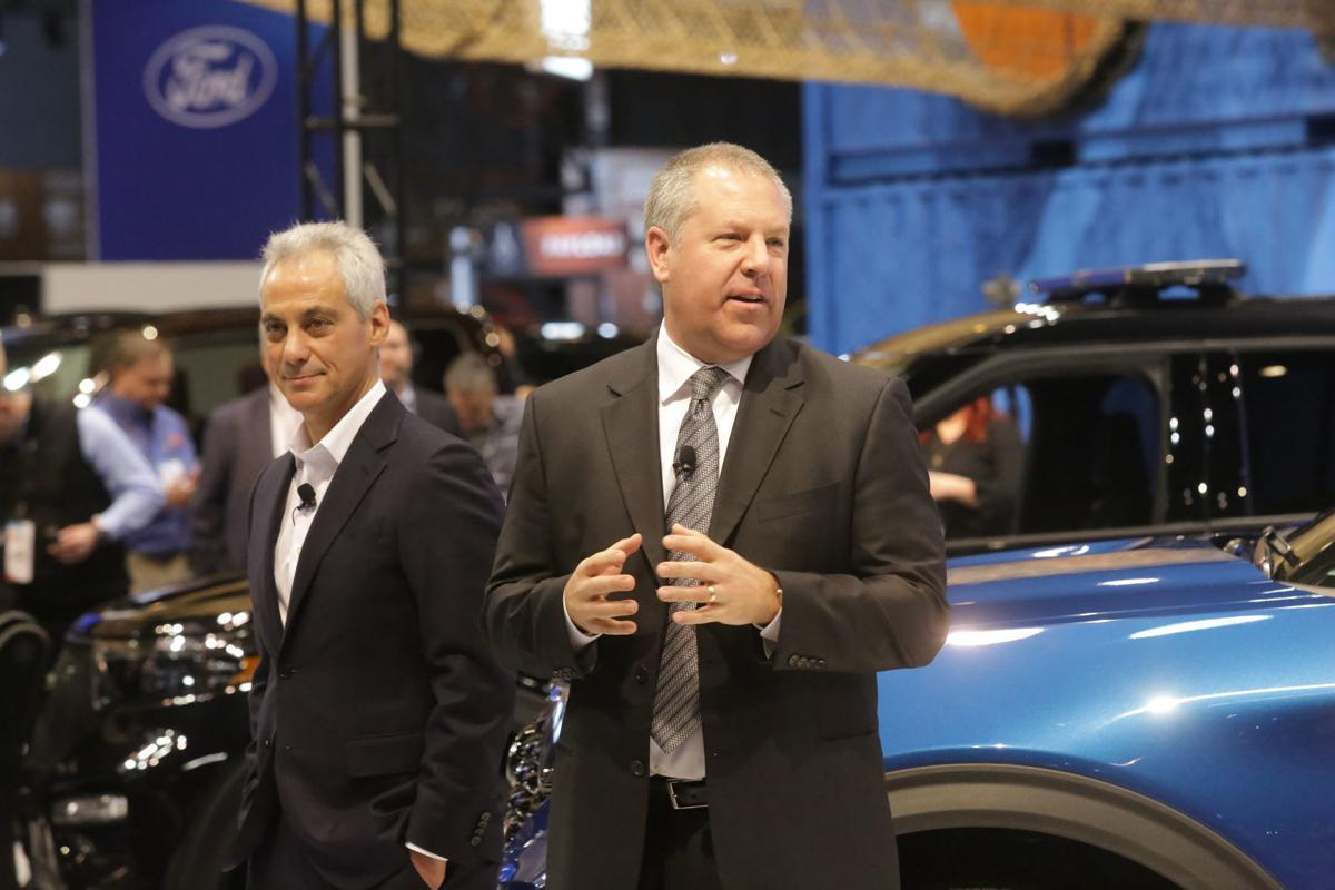 Ford press conference at the 2019 Chicago Auto Show