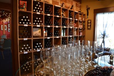 the interior of Chateau Thomas Winery