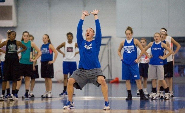 Lake Central Basketball First Practice