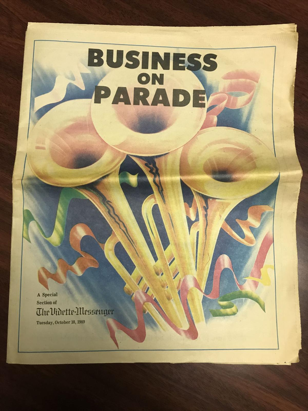 1989 Business on Parade section