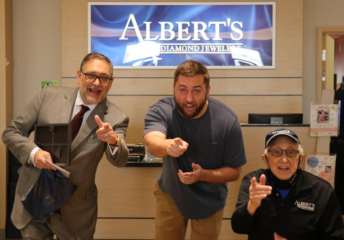 Albert's Diamond Jewelers recognizes most improved students
