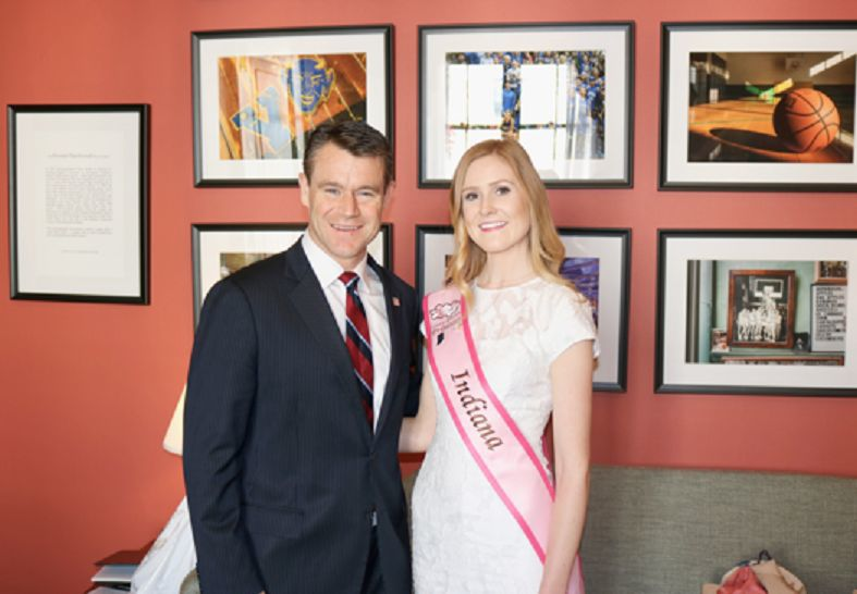 Indiana's cherry blossom princess hails from Crown Point