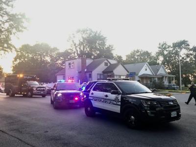 Calumet City Police respond near Sibley and Douglas