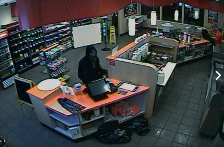 Business releases surveillance images of man suspected in at least 9 robberies
