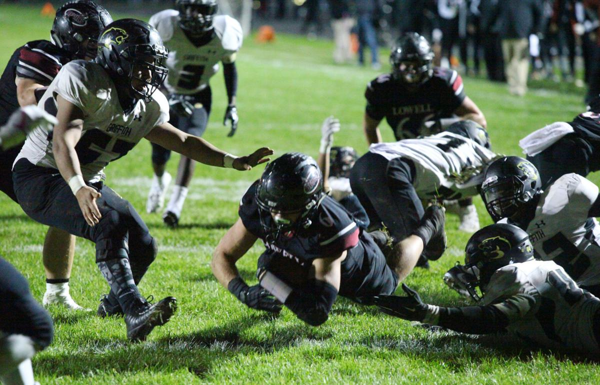 Sectional Championship - Griffith at Lowell football