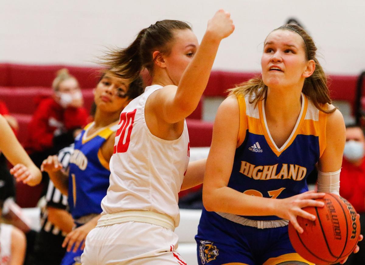 Highland at Kankakee Valley girls basketball