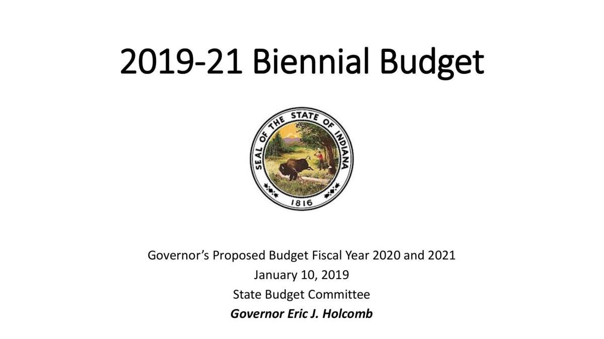 Gov. Eric Holcomb 2020-21 proposed budget presentation