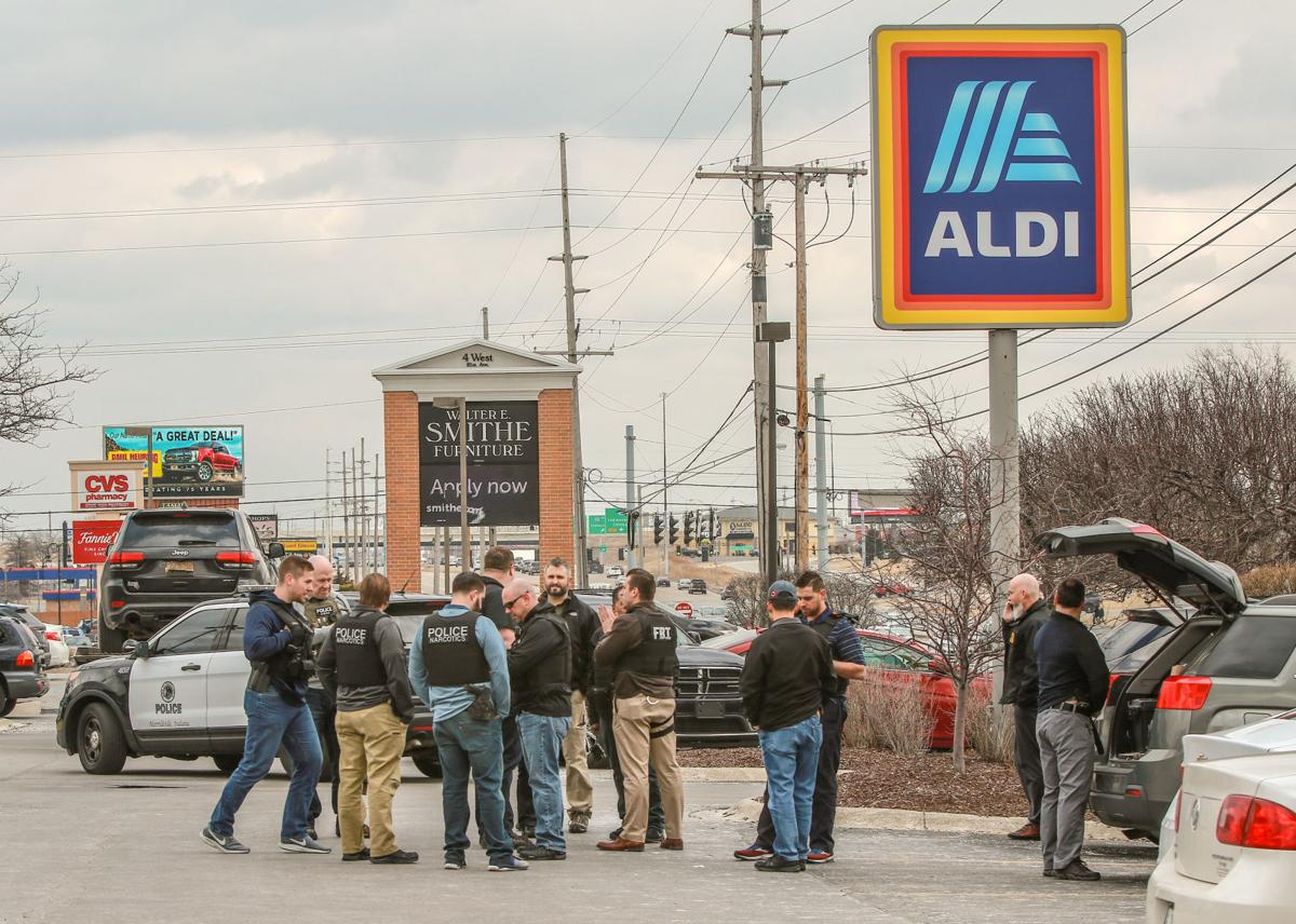 Authorities make arrest at Merrillville Aldi