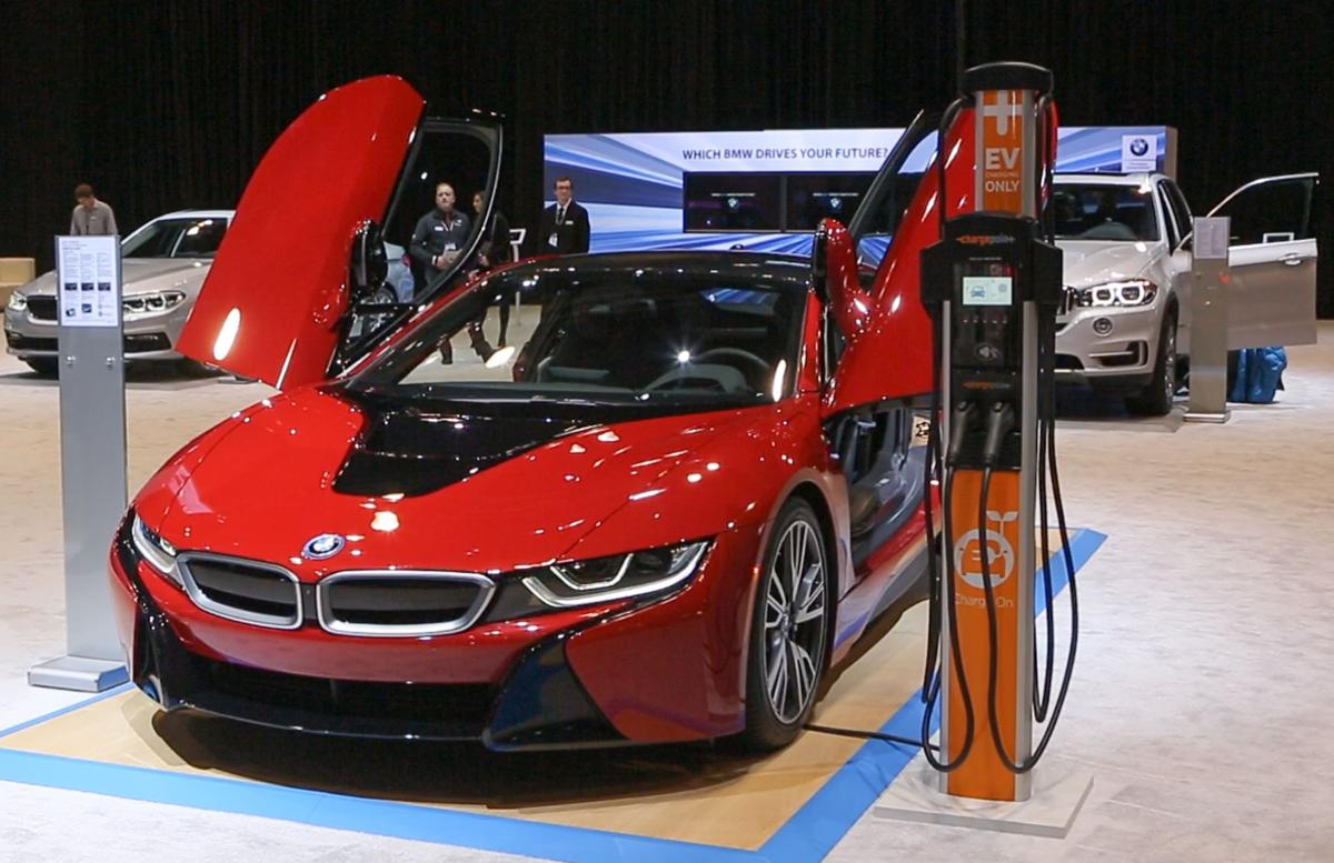 Electric vehicles power up chicago auto show business Motor vehicle chicago