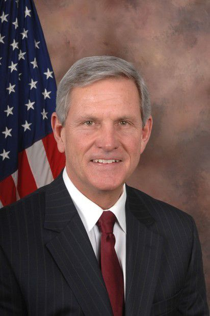 Former U.S. Rep. Baron Hill, D-Seymour