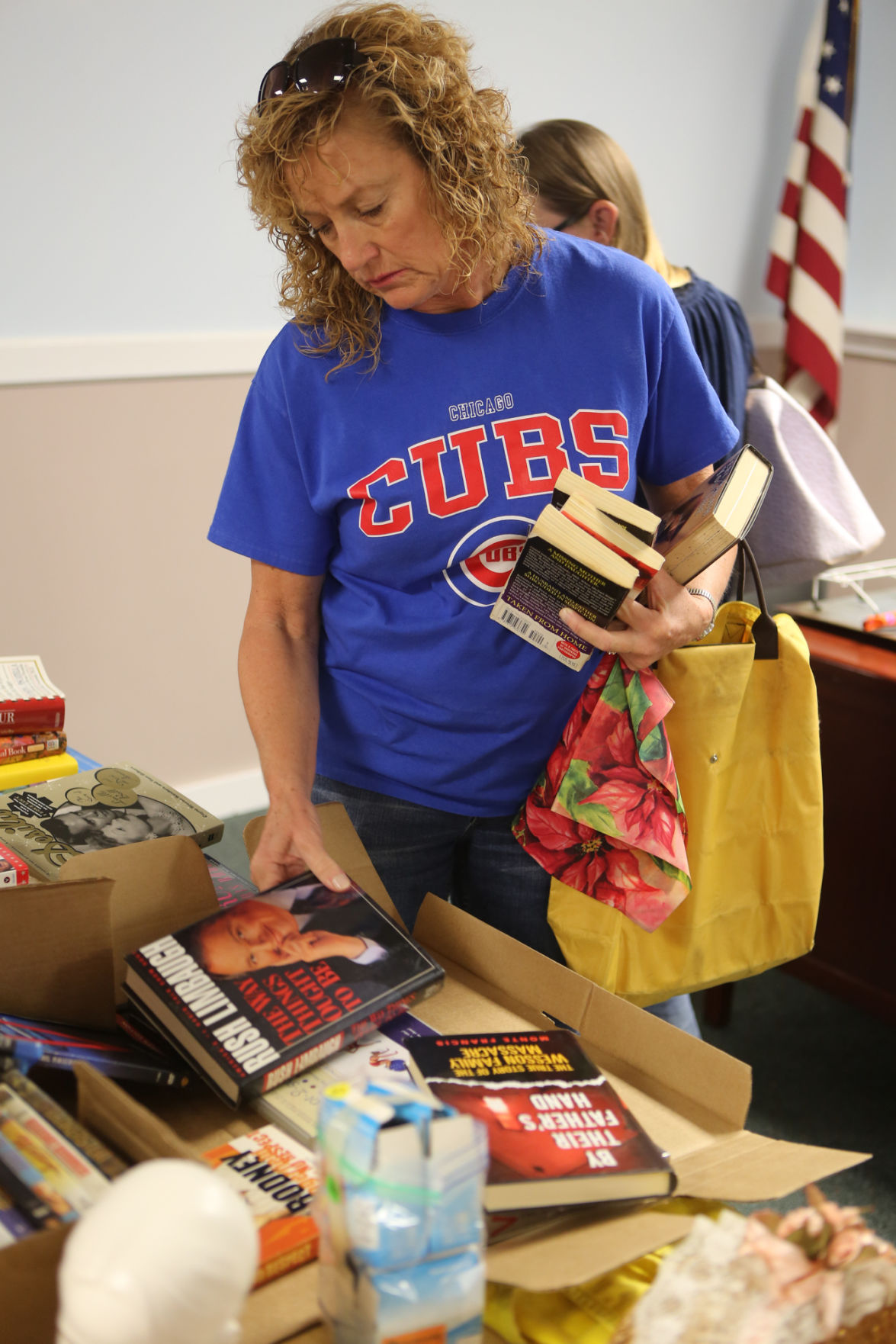 Shoppers bag bargains at Lowell garage sale | Lake County News ... on auction time, party time, technology time, garage sales in my area, art time, trivia time, cleaning time, cooking time, giveaway time, garage sales registration form, sports time, friends time, birthday time, business time, movies time, car wash time, games time, dance time, garage wall lights,