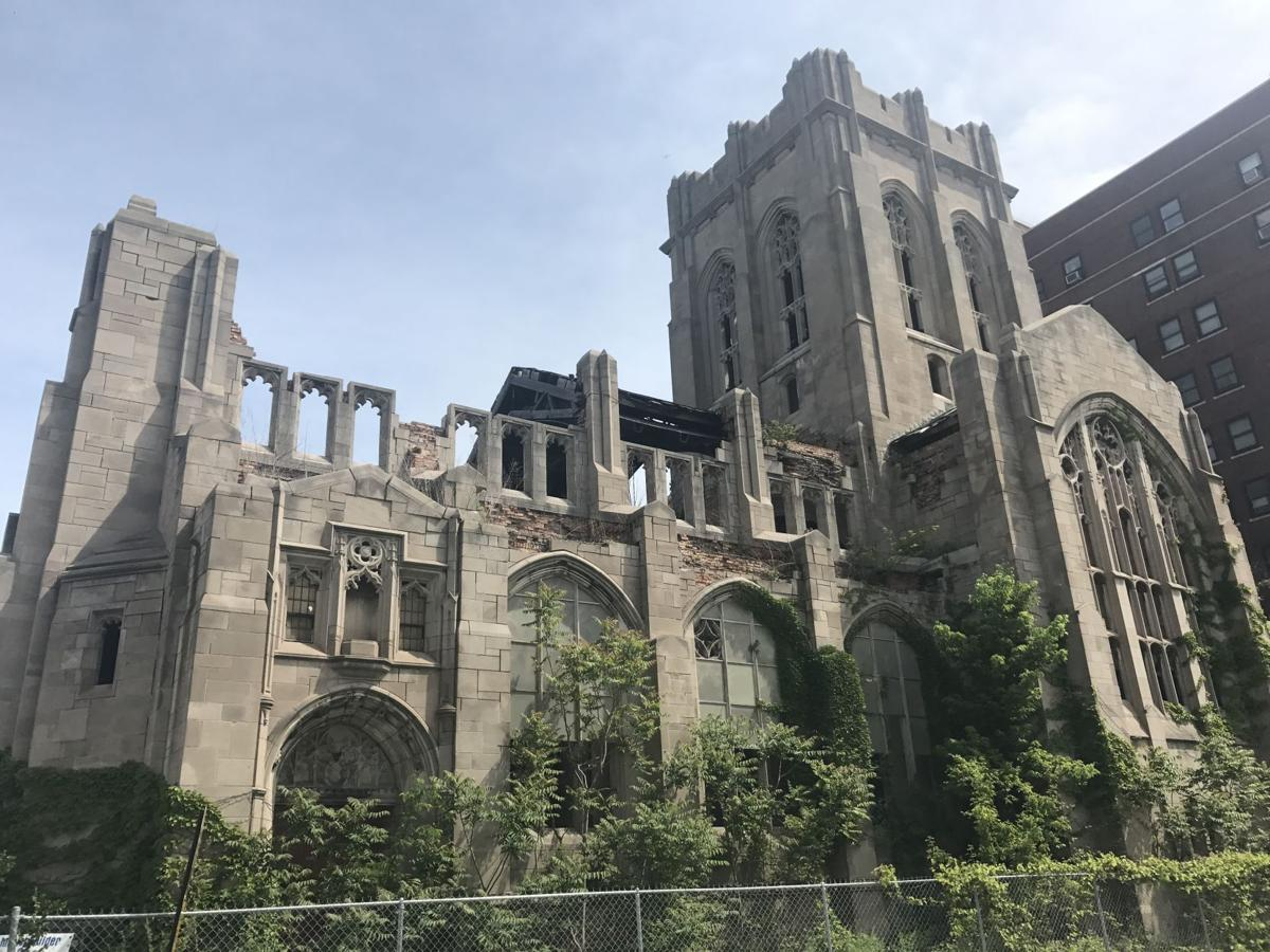 Gary lands grant funding to turn City Methodist Church into a ruins garden