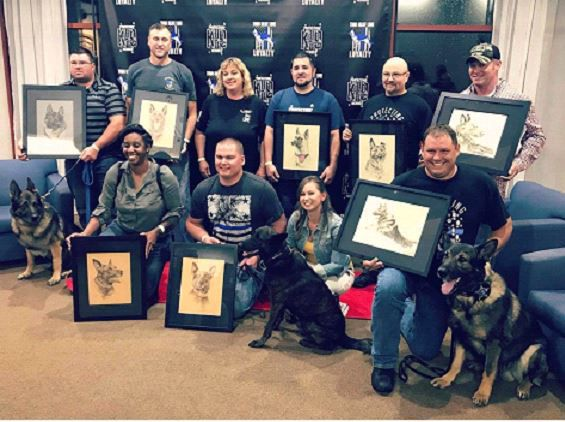 K-9 heroes honored at annual fundraiser 1