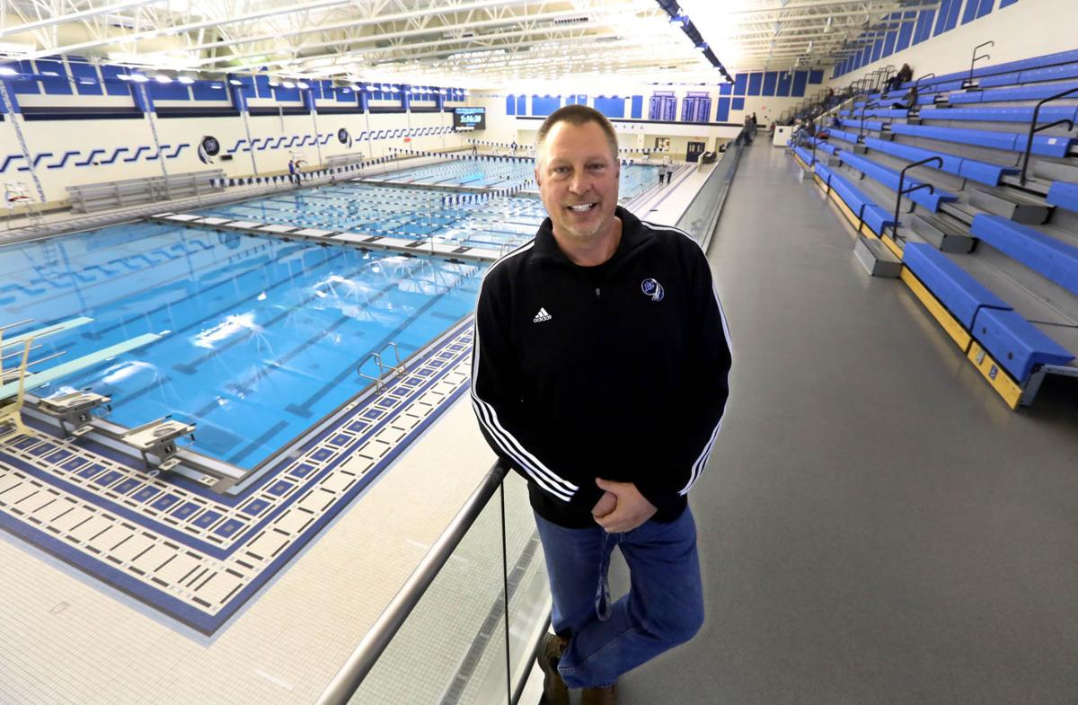 Lake Central High School's olympic pool