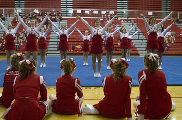 Crown Point High School hosts Cheer Thunder competition, exhibition