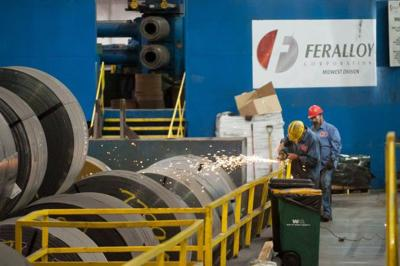 Great Lakes steel production rises by 4.75 percent