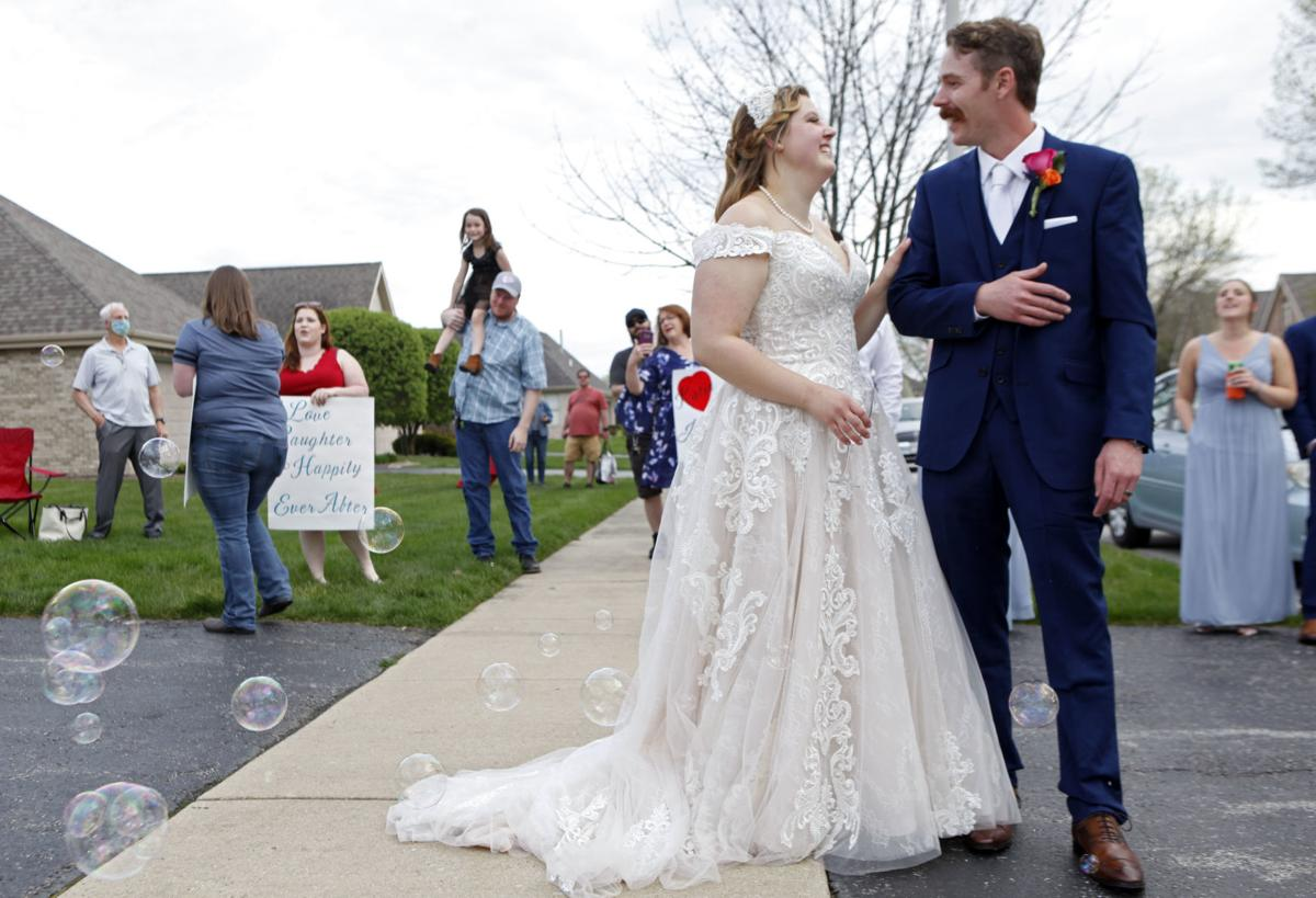 Mike De Young and Katie Dobis tie the knot