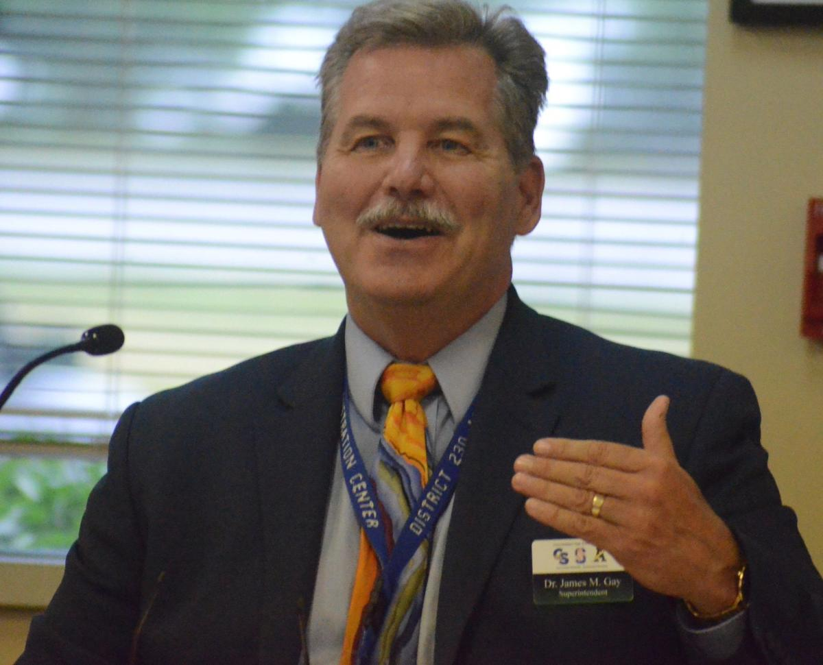 High schools' superintendent takes final bow