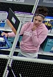 Theft suspect due make away with $500 worth of Apple electronics