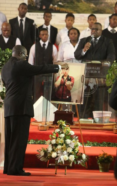 Funeral services for Afrika Hardy