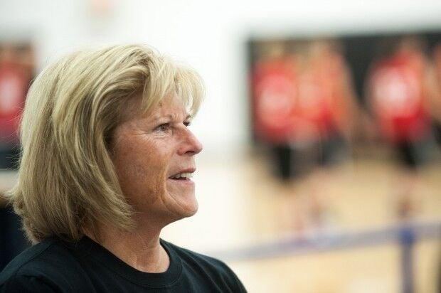 Renee Turpa coaching