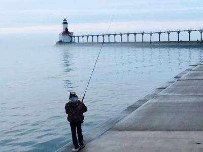 Lake Michigan fish