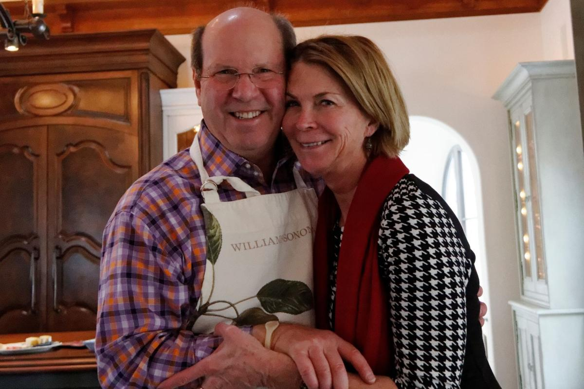 AT HOME WITH MARNI JAMESON: Couple Must Choose: Your Stuff or Mine?