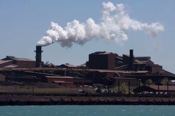 U.S. steel production soars by 12 percent in October